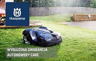 Wydłużona gwarancja z Automower® Care